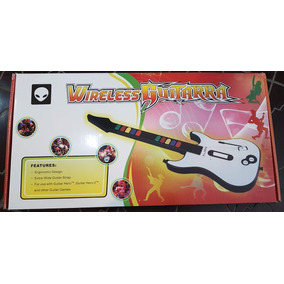 Guitarra Inalambrico Ps2 Alien 10 Botones