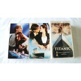 Titanic Pelicula Vhs Cassette Doble 1998 Subtitulos Español