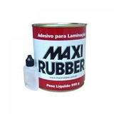 Adesivo Laminação Resina Fibra Vidro 990g C/cat Maxirubber