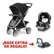Set Paseo Cochecito Bravo® + Base Keyfit De Regalo