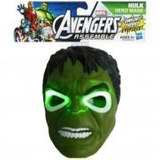 Mascara Increible Hulk.con Luz Led.