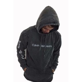 Blusa De Frio Calvin Klein C/capuz Original Foto Real +frete