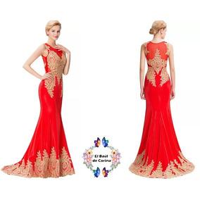 Vestido De Fiesta - Gala - Noche Xl 0101174 Elbauldecorina