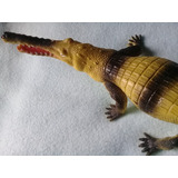 Dia Del Niño Cocodrilo Gigantesco 39cm! Juguete Goma Tiburon