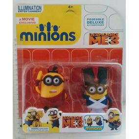 Minions Muñecos X 2 En Caja Mi Villano Favorito