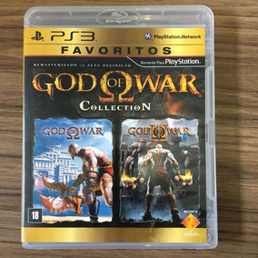 Jogo God Of War Collection Ps3 - Mídia Física - Seminovo