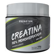 Creatina 100% Monoidratada (predator) - 150g - Nutrata