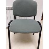Oferta!!silla Fija Apilable Tapizadas