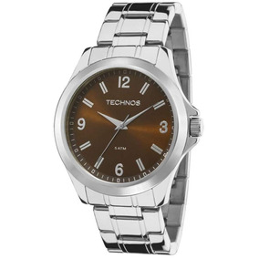 Relógio Technos Steel Masculino Analógico 5 Atm - 2035mcx/1m