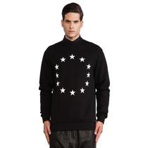 Sudadera Estrellas Circulo Estilo Givenchy 2016 Moda!!!