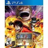 Videojuego One Piece Pirate Warriors 3 Para Ps4 Envio Gratis