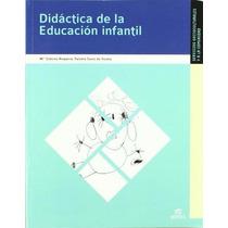 Livro Em Espanhol - Didáctica De La Educación Infantil