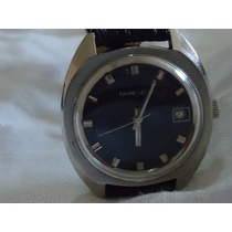 Reloj Swiss Favre Leuba Vintage Automático Impecable