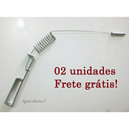 02 Und. Aurameter /aurímetro Em Metal Cromado Radiestesia