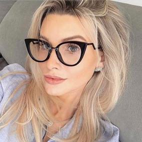 Armação Oculos De Grau Feminino Fendi Orchidea Strass + Case
