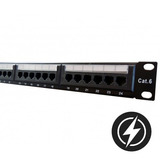 Patchera 24 Puertos Cat 6e Para Rack | Linz