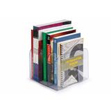 Organizador Aparador Suporte Livros Em Acrílico Transparente