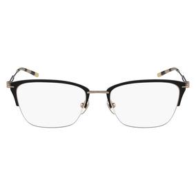 Óculos De Grau Calvin Klein Ck8065 007/52 Preto Fosco/dourad