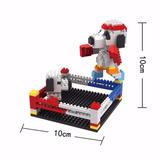 Snoopy Box Mini Block Para Armar Diamond Blocks