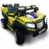 Auto Bateria Jeep Control Remoto Luces Musica Usb Mp3