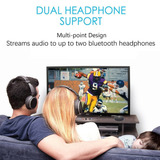 Transmisor De Audio Bluetooth Soporta 2dispositivos