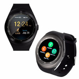 Reloj Inteligente Touch Smartwatch Y1 Bluetooh Android Pau
