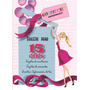 Kit Imprimible 15 Años Las Mas Bellas Tarjetas D Invitacion
