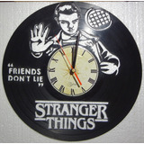 Reloj Decorativo, Stranger Things, Vinilo.