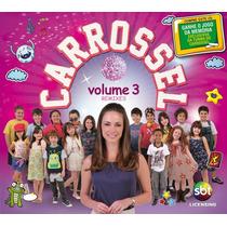 Cd Carrossel Volume 3 Remixes (2013) * Lacrado Original Raro