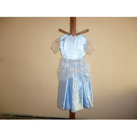 Vestido Tipo Cenicienta 4-5 Años