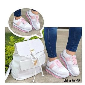 Combo Bolso Zapatos Mujer Sparkly