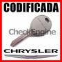 Copia Llave Codificada Chrysler Stratus Sebring Caravan Chip