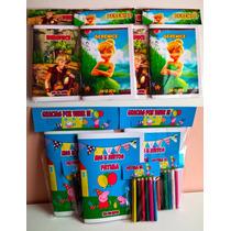Libritos Colorear + Lapices Personalizado Libro Rompecabeza