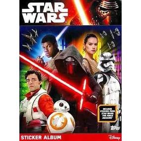 Album Completo Star Wars Figurinhas Soltas P/ Colar