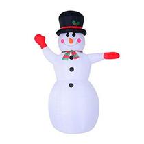 Mono De Nieve De Navidad Inflable