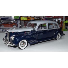 1:18 Packard Super Eight One Eighty 1941 Azul Greenlight