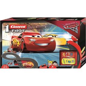 Cars 3 Autopista Electrica Pista Carrera Mcqueen Rayo