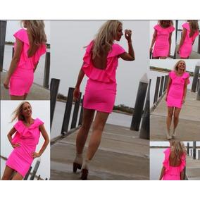 Vestido Fiesta Love, 100% Lycra Super Sexy Y Elegante!!!