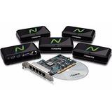 Ncomputing X550 Multiusuario 5 Terminales Y Una Pci