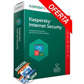 Licencia Original Kaspersky Internet Security 2018 1 Pc