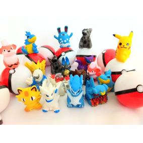 Pokémon Na Pokebola 50 Unid Kit Festa Lembrancinha Infantil
