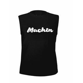 955d689eb3 Playera Sin Manga Machin. Gym Deportiva Unisex Casual