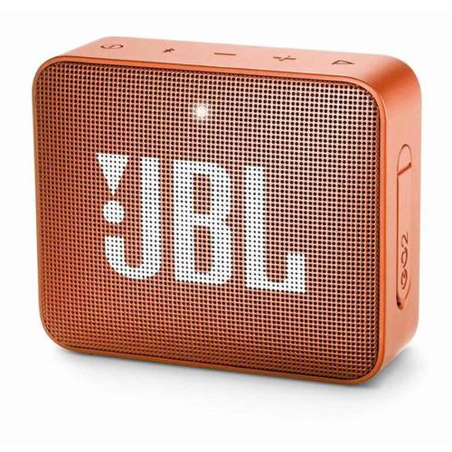 Caixa de som JBL Go 2 portátil com bluetooth coral orange