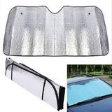 Parasol Para Auto Metalizado Plegable 130 Cms Protección Uv