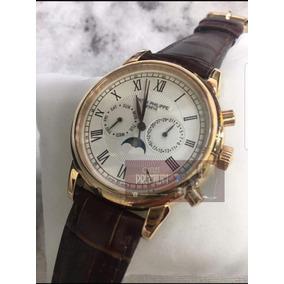 1ac5c938a2d Relogio Patek Philippe Couro - Relógios no Mercado Livre Brasil