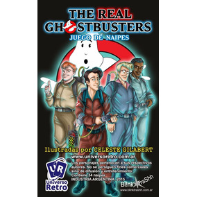 Cartas Cazafantasmas The Real Ghotsbuster Universo Retro
