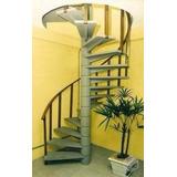 Projeto Completo Fabricação De Escadas Caracol
