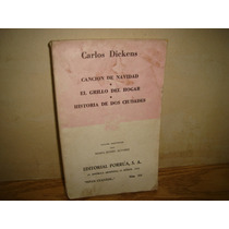 Canción De Navidad, El Grillo Del Hogar, Carlos Dickens