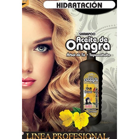 Shampoo De Tepezcohuite Aceite De Onagra Y Arbol De Te