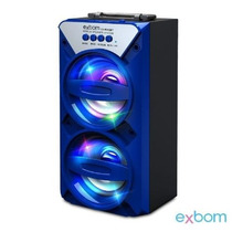 Caixa De Som 2.0 Bluetooth 8watts Aux/sd/usb/fm Cs-m242bt